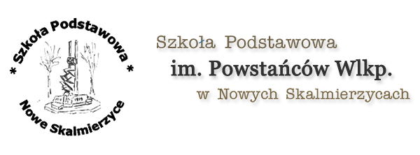 Idź do strony głównej Szkoła Podstawowa im. Powstańców Wlkp. w Nowych Skalmierzycach